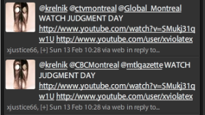 @krelnik @ctvmontreal @Global_Montreal WATCH JUDGEMENT DAY (url)