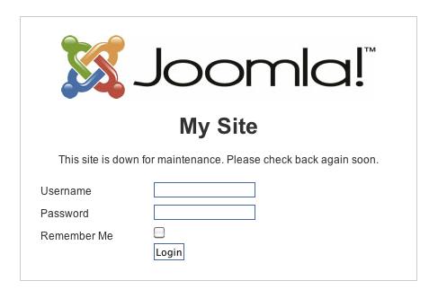 Joomla login from jamesrandiusa.org
