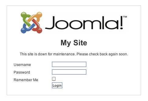 Joomla login from jamesrandiusa.org