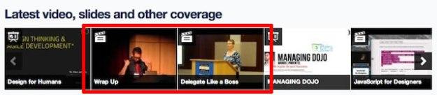 Lanyrd Speakers directory videos