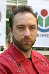 Jimmy Wales, photo by Andrew Lih licensed under a CC BY-SA 2.5 license.