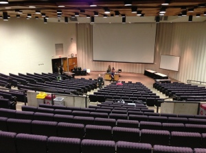 A wider shot of the Skep Tech venue - Willey Hall at the University of Minnesota