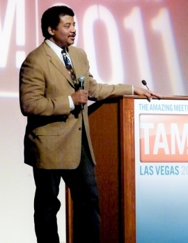 Neil Degrasse Tyson at TAM9