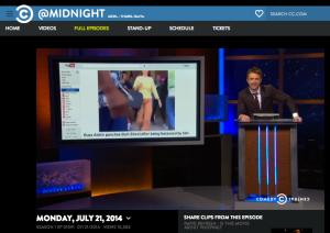 Comedy Central screen shot