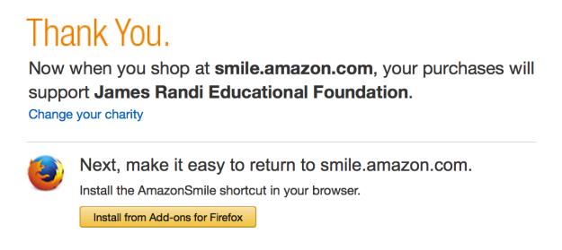 Firefox smile plugin prompt